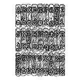 Sizzix 664760 Cartella per goffratura 3 D Texture Fades da Tim Holtz Taglia Unica Fustelle per Scrapbooking, Multicolor