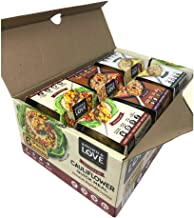 Kitchen & Love Best Sellers Variety Box 6-Pack | Vegan, Ready-to-Eat, No Refrigeration Required