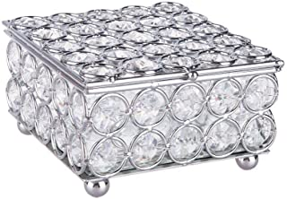 crystal trinket box