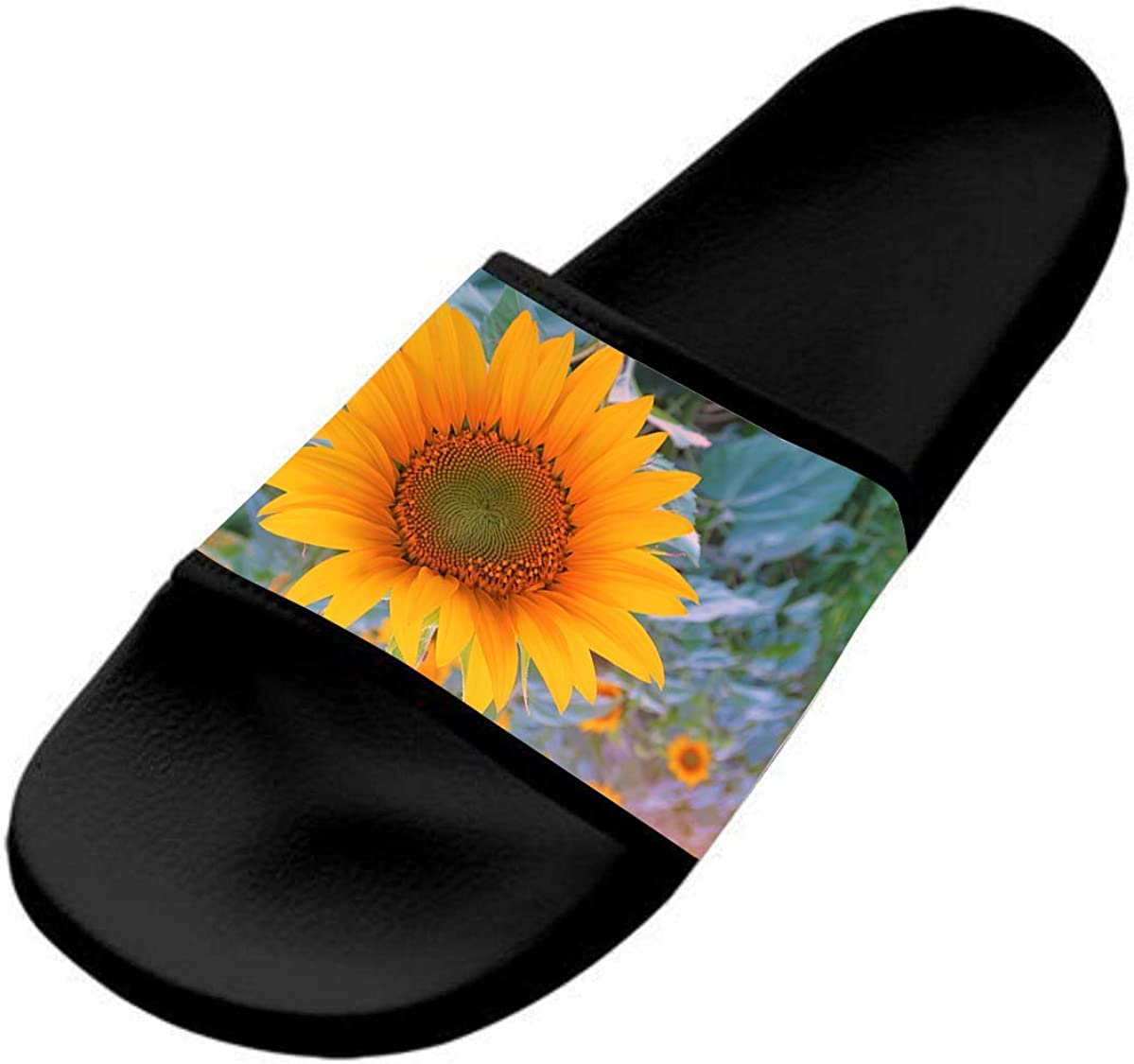 Sunflower Casual and Stylish Sports Slippers for Kids are Flat and Comfortable