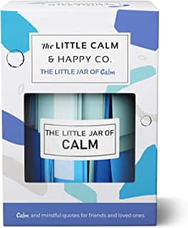 The Little Calm and Happy Company Calm and Mindfulness Positive Quotes Jar (30 Notes) Powerful Quotes, Inspirational Posit...