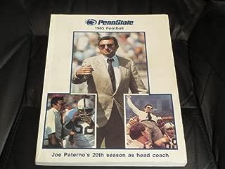 1985 PENN STATE JOE PATERNO COLLEGE FOOTBALL MEDIA GUIDE EX BOX 13