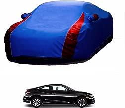 MotRoX Lively Water Resistant Car Body Cover for Honda Civic (R Blue & Blue - V Shape)