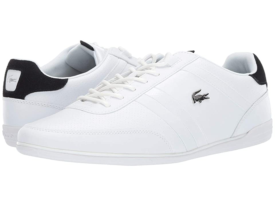Lacoste Giron 119 1 U CMA (White/Black) Men