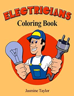 Electricians Coloring Book