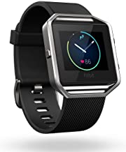 Fitbit Blaze Wireless Smart Fitness Watch Wireless Activity Tracker with Heart Rate Monitor, Black, Small (5.5-6.7 in) (Re...
