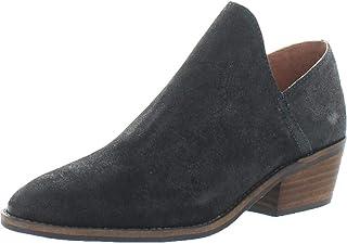 حذاء نسائي بكعب مرصوص من Lucky Brand أسود مقاس 7