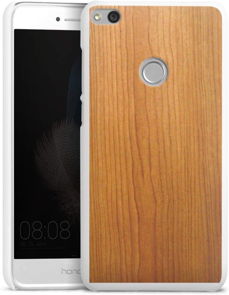 DeinDesign Coque Compatible avec Huawei P9 Lite (2017) Étui Housse Aspect Bois Mélèze Bois