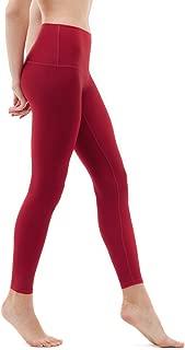 TSLA Yoga Pants Mid-Waist/High-Waist Tummy Control w Side/Hidden Pocket Series