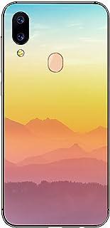 Oihxse Transparente Silicona Case Compatible con Xiaomi Redmi Y1 Funda Suave TPU Protección Carcasa Moda Dibujos Animados Divertida Diseño Ultra-Delgado Cubierta-Montaña
