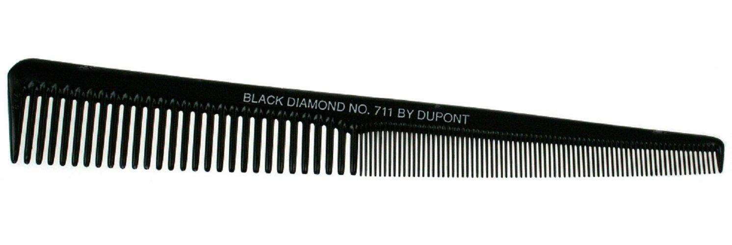 Max 86% OFF Black Diamond Tapered Barber shipfree Hair 190 Comb ml Length