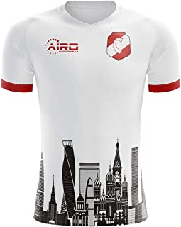 Airo Sportswear 2019-2020 Spartak Moscow Home Concept Football Soccer T-Shirt Jersey