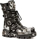 New Rock Boots Style 591 Silver