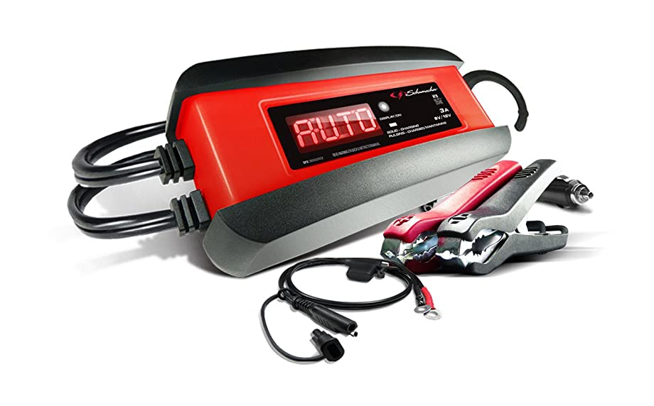 Schumacher SP1356 6/12V Fully Automatic Battery Charger and 3A Maintainer