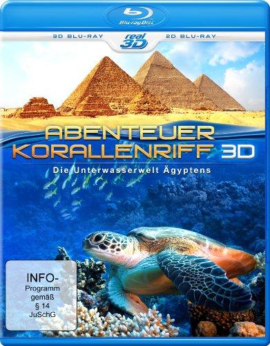 Abenteuer Korallenriff - Die Unterwasserwelt Ägyptens (inkl. 2D Version) [3D Blu-ray]