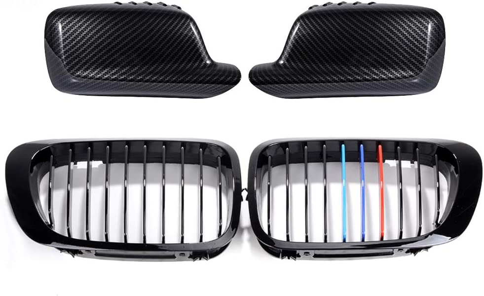 AstraDepot 春の新作 Set of Front Grille + Cap セール品 Cover Side Compatibl Mirror