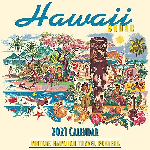 Pacifica Island Art Hawaii 2021 Wall Calendar Hawaii Bound Travel Poster Collection