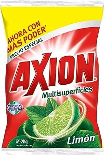 Axion Lavatrastes Limón en Polvo, 2Kg