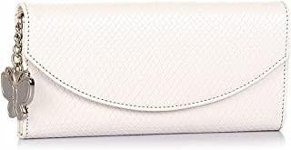 Butterflies Wallet (White) (BNS 2272)