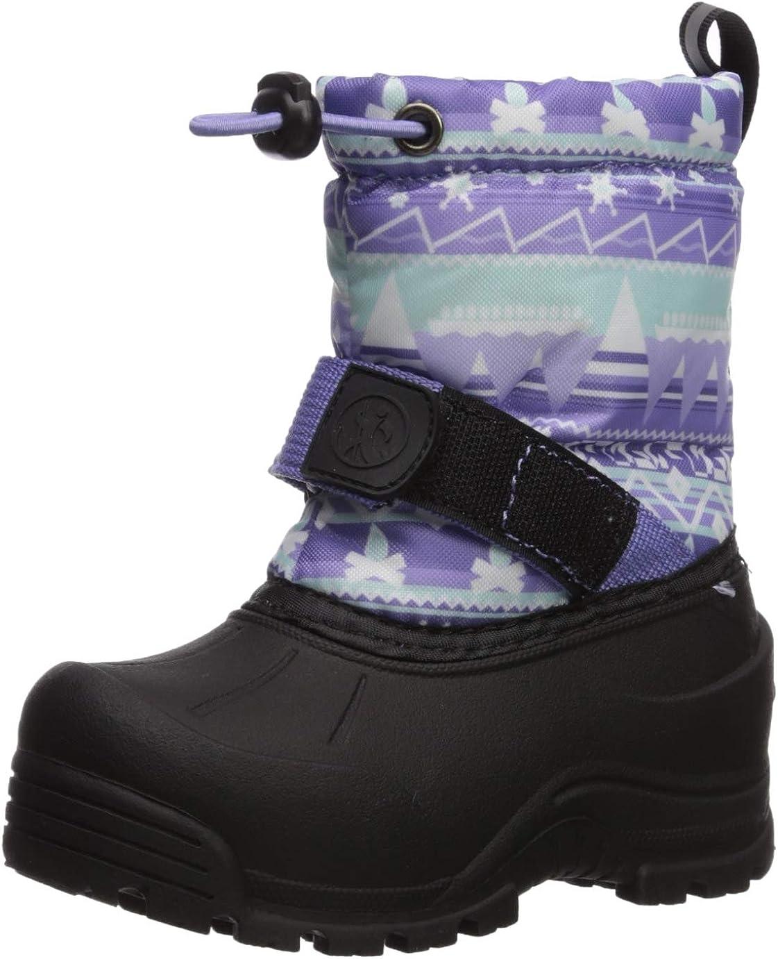 Echo Bay Frosty 5 ☆ popular Girls' Weather Boot Max 74% OFF Purple