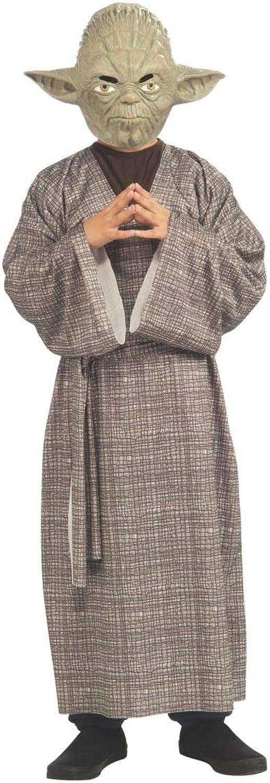 bajo precio Rubies Disfraz de de de maestro Yoda Deluxe para Niños  Venta barata