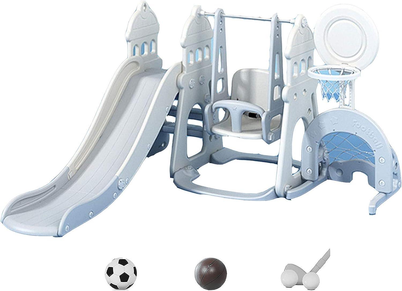 Max 70% OFF DUTUI Children's 2021 new Slide Indoor Home Set Swing Large Heighte