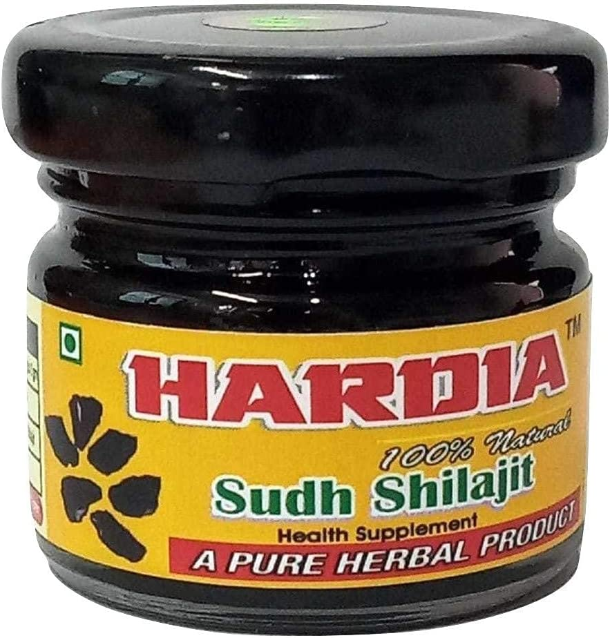 Spare Superior Hardia Natural Pure Semi Liquid Raw Resin Shilajit 15 Gr Choice