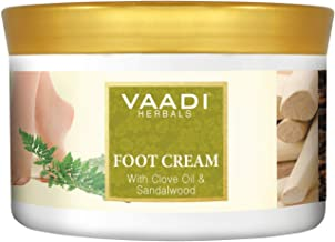 Vaadi Herbals Foot Cream, Clove Oil and Sandalwood, 500g