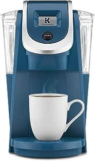 Keurig K250 Single Serve, K-Cup Pod Coffee Maker with Strength Control, Peacock Blue (Renewed)