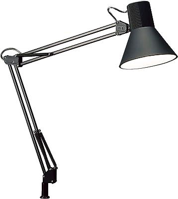 山田照明 Z-LIGHT LEDデスクライト ブラック E26LED電球 昼白色 Z-108NB