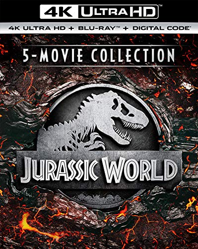 Jurassic World 5-Movie Collection (4K Ultra HD + Digital) [Blu-ray]