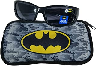 Boys Black Sunglasses with Soft Case 100% UVA & UVB...