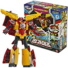 Hello Carbot King Guys - 4 Mode (Robot, Shark, Eagle, Lion) Transformer Robot Toy Kids Action Figure