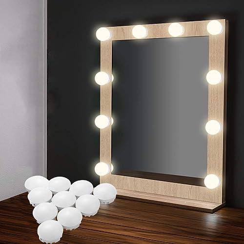 Bedroom Mirror With Lights Amazoncouk