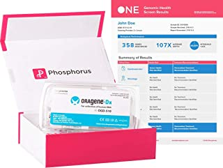 PhosphorusONE - an All Inclusive Genetic Test for Health Risks, Infertility, Wellness, and Drug Response with 350+ Genes