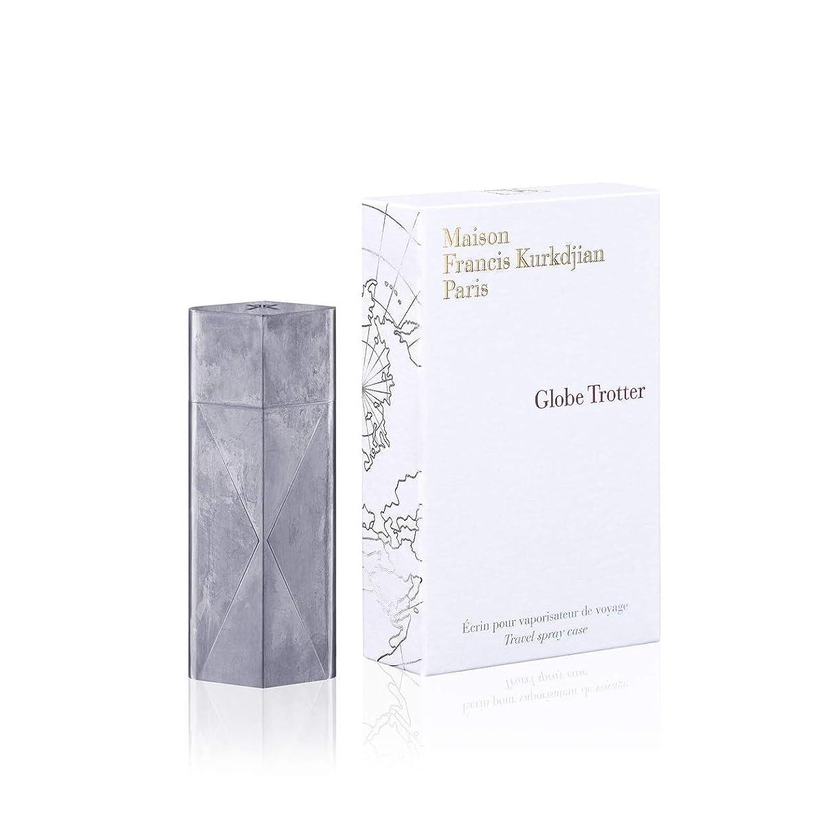 適性摂氏無駄にメゾン フランシス クルジャン グローブ トロッター トラベル スプレー ケース ジンク(Maison Francis Kurkdjian Globe Trotter Travel Spray Case Zinc) [並行輸入品]