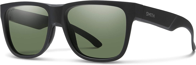 Smith Lowdown 2 Rectangle Sunglasses For Men For Women+FREE Complimentary Eyewear Care Kit