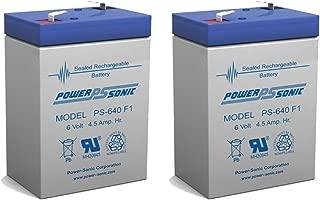 6v 4000 mAh UPS Battery for Lithonia ELB06042 - 2 Pack