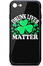 Phone Case for iPhone Case 6/6S 6/6Splus 7/8 Drunk Lives Matter St Patricks TPU Full Body Protection Best Anti-Scratch Fashionable Glossy Anti Slip Thin Shockproof Soft
