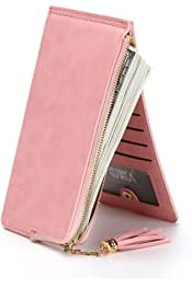 388d63d3a9b2 Amazon.ae: makeup - Pink / Wallets, Card Cases & Money Organizers ...