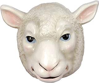 Forum Novelties Child's Plastic Animal Mask, Sheep