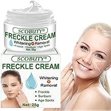Freckle Cream,Freckle Remover,Dark Spot Corrector Cream,Whitening Cream,Fade Cream,Bleaching Cream Skin Whitening Cream for Face Fade Hyperpigmentation Remover Dark Spots Melasma