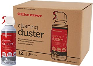 Office Depot Brand Cleaning Dusters, 10 Oz, Pack of 12