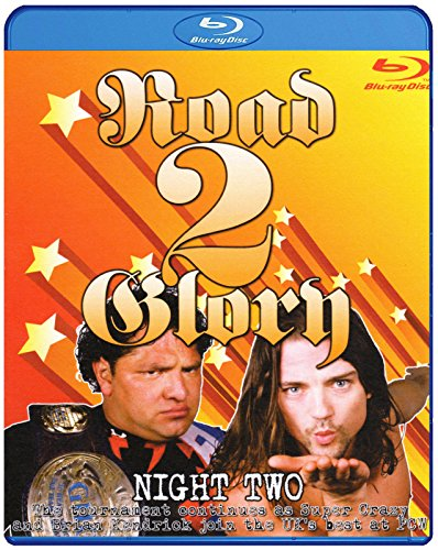 PCW - PRESTON CITY WRESTLING - Road To Glory 2013 Night Two BLU-RAY