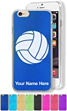 Case Compatible with iPhone 6 Plus and iPhone 6s Plus, Volleyball Ball, Personalized Engraving Included
