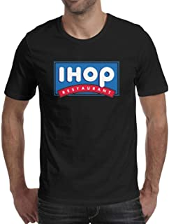 WintyHC IHOP T Shirts for Men Fit Short-Sleeve Crewneck T-Shirts