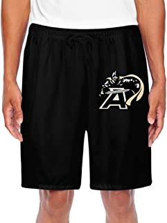 ZOENA Men's Awesome United States Military Academy Knights Running Pants Black