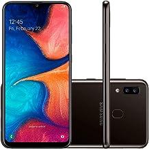 "Samsung Galaxy A20 32GB A205G/DS 6.4"" HD+ 4,000mAh Battery LTE Factory Unlocked GSM Smartphone (International Version) (Bl..."