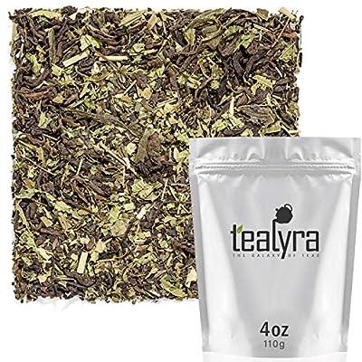 Tealyra - Refresh Pu'erh Detox - Yerba Mate Loose Tea - Verbena Lemongrass - Matcha - Health Booster - Digestive - High Caffeine - All Natural - 112g (4-ounce) from Tealyra