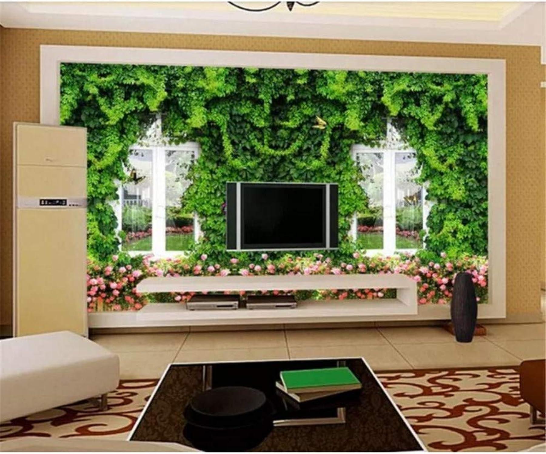 ¡no ser extrañado! Qqasd Papel tapiz 3D Foto Vine Vine Vine Papel tapiz 3D Paisaje Salón Dormitorio Mural 3D TV Telón de fondo-190X130CM  Compra calidad 100% autentica